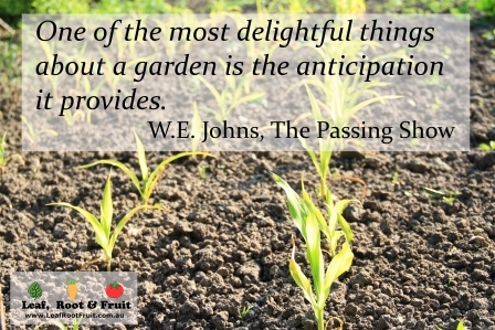 Gardening Quotes And Sayings Quotesgram