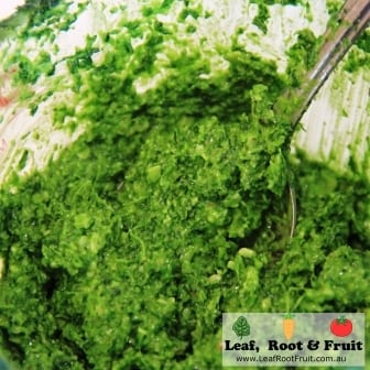 Parsley Pesto Recipe - Leaf, Root & Fruit Gardening Services Hawthorn