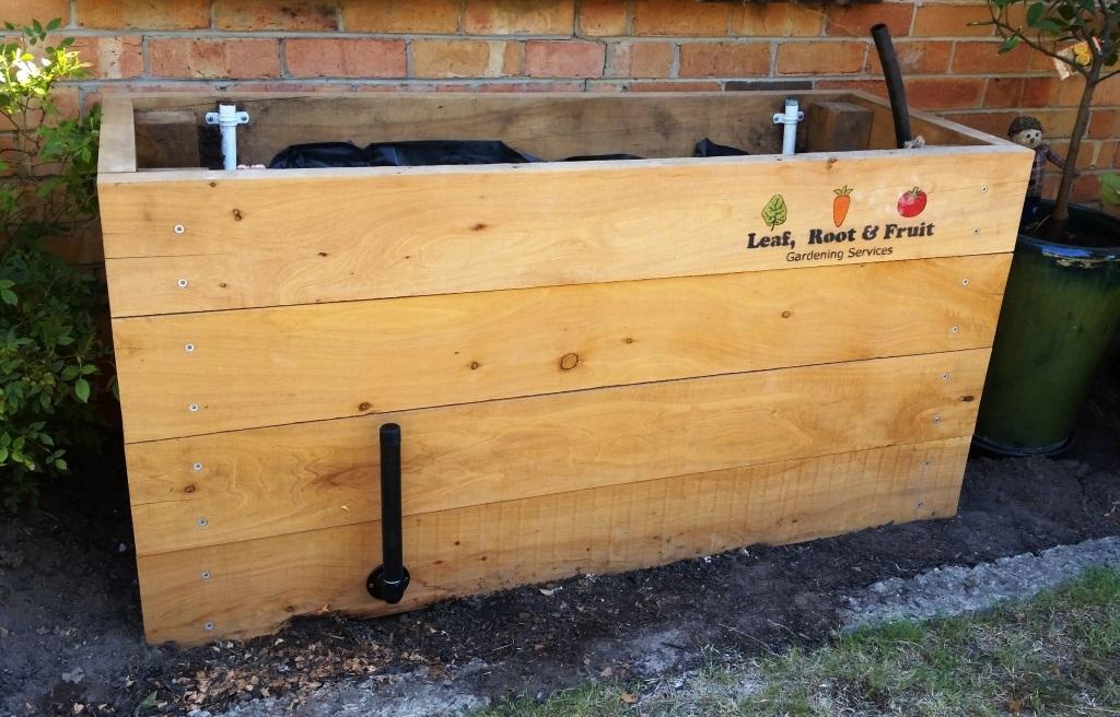 Raised Cypress Garden Bed Melbourne