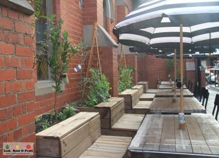 CH James Edible Courtyard Garden